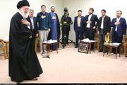 دیدار نخبگان و مدال آوران شریف با رهبر انقلاب/گزارش تصویری