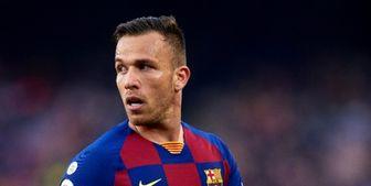 یوونتوس با بارسلونا بر سر آرتور به توافق رسید