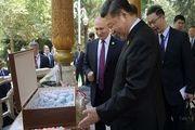 هدیه جالب توجه ولادیمیر پوتین به رئیسجمهور چین به مناسبت تولدش!+ تصویر