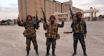 تسلط ارتش سوریه بر یک شهرک و چندین روستا