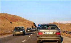 وضعیت ترافیک در محورهای بر تردد کشور