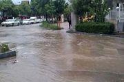 بارش باران و طغیان رودخانه ها در هرمزگان/عکس