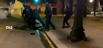 تصاویری از خشونت شدید پلیس فرانسه علیه معترضان+فیلم
