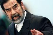 عکس دیده نشده از صدام حسین