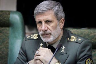 قدردانی وزیر دفاع از فرمایشات حکیمانه امام خامنه ای