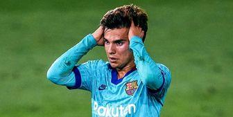 عذر ستاره آیندهدار بارسلونا خواسته شد!
