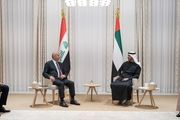دیدار رئیسجمهور عراق و ولیعهد ابوظبی