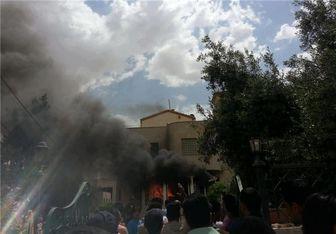 آرامگاه «جعفر طیار» در اردن را به آتش کشیده شد