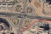 طراحی رمپ بلوار دریاچه خلیج فارس به بزرگراه شهید خرازی