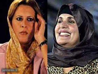 الجزایر همسر و دخترقذافی را اخراج میکند
