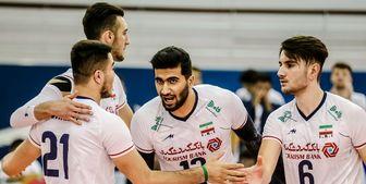 ایران با غلبه بر ایتالیا قهرمان جهان شد