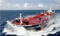 لحظه غرق شدن نفتکش ایرانی از نمایی دیگر +عکس