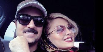 تبریک تولد خاص همسر احمد مهران فر /عکس