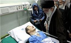 روایتی از عیادت رهبر انقلاب از احمد عزیزی