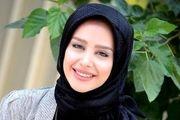 حال خوش الناز حبیبی در کنار بازیگر پایتخت /عکس