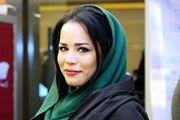 چهره خواب آلود ملیکا شریفی نیا /عکس