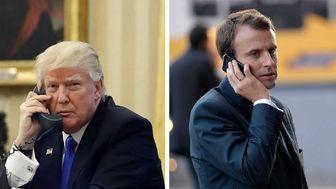 گفتوگوی تلفنی ترامپ و مکرون
