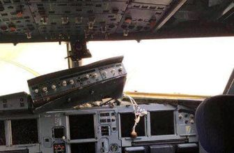 خلبان چینی هواپیما را معجزه آسا بر زمین نشاند