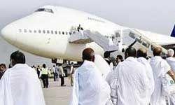 انتقال زائران حج تمتع به فرودگاه امام خمینی(ره)