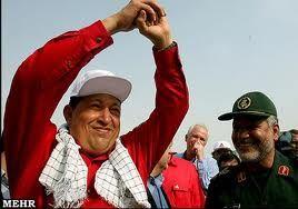 آرزوی احمدی نژاد برای چاوز