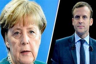 مرکل و ماکرون به دنبال اصلاحات در اروپا