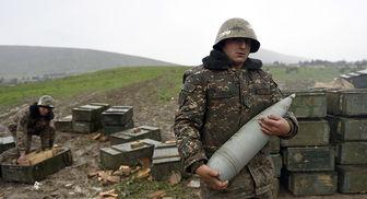 مقر فرماندهی ارتش ارمنستان منهدم شد