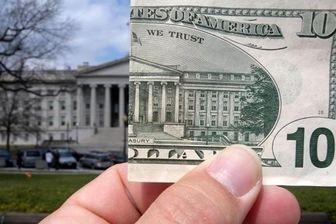 کسری بودجه آمریکا ۵۶۸ میلیارد دلاری شد
