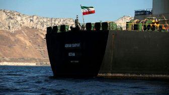 مقصد نامشخص نفتکش ایران در دریای مدیترانه