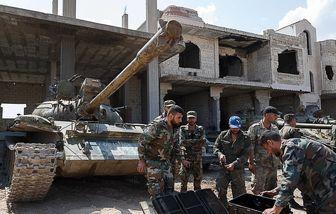 ضربات محکم ارتش سوریه به تروریستها در ادلب