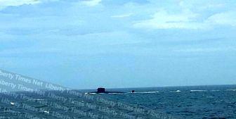 تردد زیردریایی هستهای چین در تایوان