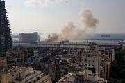 انفجار بیروت در صدر اخبار سیاسی