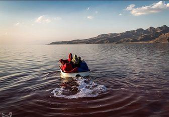 جدیدترین تصویر ماهوارهای از دریاچه ارومیه
