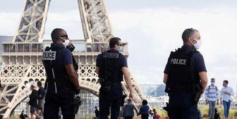 استقرار پلیس برای اجرای محدودیتهای کرونایی در فرانسه