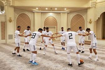 تمرین ملی پوشان ایرانی در هتل محل اقامت در ازبکستان