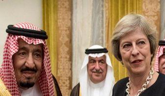 دخالت مستقیم انگلیس در سرکوب شهروندان عربستانی