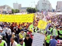 برگزاری بزرگترین تظاهرات ضددولتی در مراکش
