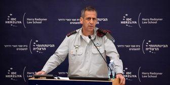 حادثه برای بالگرد حامل رئیس ستاد مشترک ارتش رژیم صهیونیستی