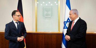 دیدار وزیر خارجه آلمان با نخست وزیر و وزیر جنگ رژیم صهیونیستی