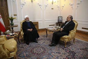 روحانی: باید خیال مردم از بابت تیم ملی فوتبال و آینده آن راحت باشد