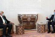دیدار رئیس حشد شعبی با بشار اسد