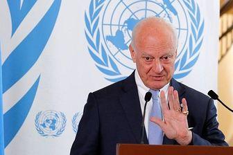 دی میستورا: دور بعدی مذاکرات سوریه ۷ و ۸ آذر در آستانه برگزار میشود
