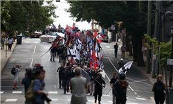 تجمع نژادپرستها در ویرجینیا به خشونت کشیده شد