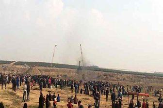 مجروحیت ۶۳ فلسطینی در جریان تظاهرات بازگشت
