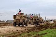 مردم سوریه در مقابل کاروان نظامیان آمریکایی ایستادند