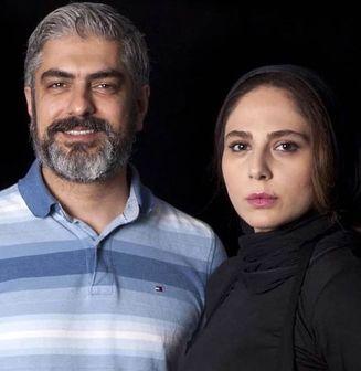 سلفی جدید مهدی پاکدل و همسرش رعنا آزادی ور+ عکس