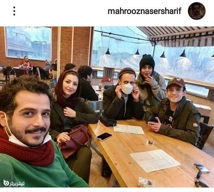 بازی مهروز ناصر شریف در سریال باخانمان