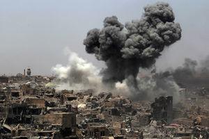 بمباران مواضع داعش