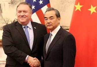 پامپئو: به همکاری با چین در تحریم ایران امیدواریم