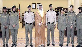 اتفاق تاریخی در کویت: نگهبانان زن برای پارلمانِ مردانه! + عکس