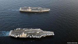 آغاز رزمایش آمریکا و همپیمانانش در خلیج فارس